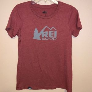 REI Organic Cotton Recycled Polyester Tee Top S